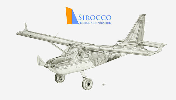 Sportsman TC with Sirocco Design Corp. Winglets Logo 2 by Nicholas Linehan