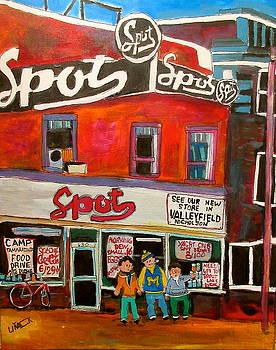 Michael Litvack - Spot Supermarket Lachine 1950