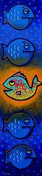 Spot The Odd Fish Out  by John  Nolan