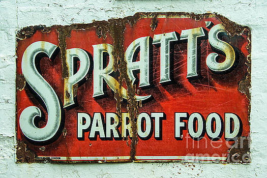 Spratts Parrot Food by Rob Hawkins