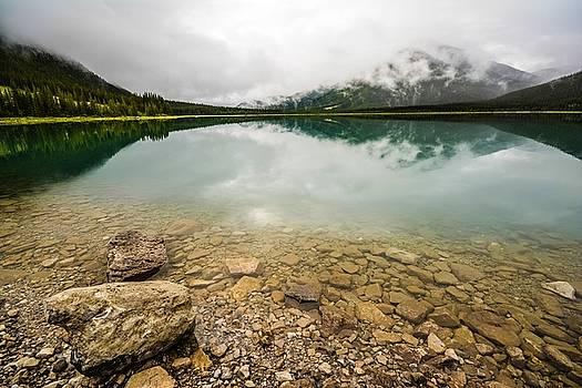 Spray Lake Alberta by Karl Anderson