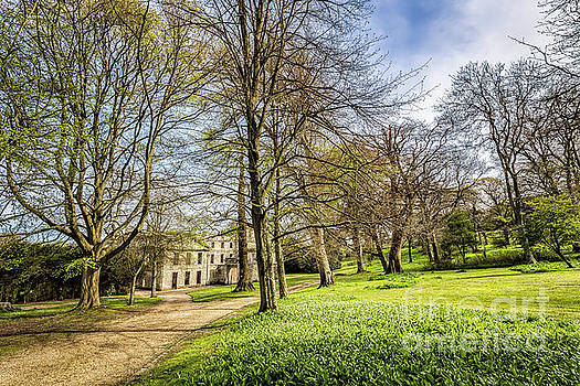 Spring At Appuldurcombe House by English Landscapes