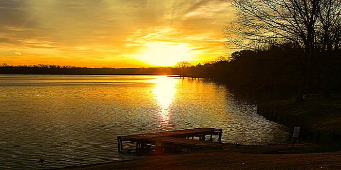 Barry Jones - Spring Awakening Lakeside Sunrise Landscape