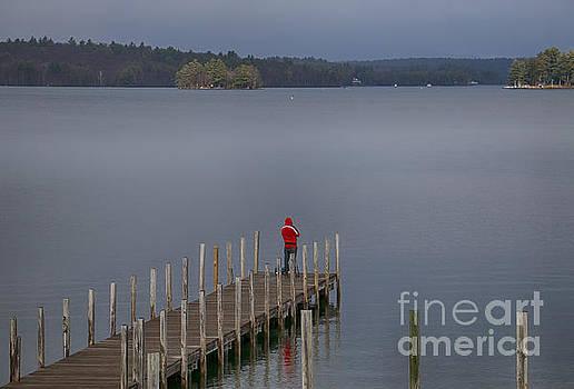 Spring Fishing by Mim White