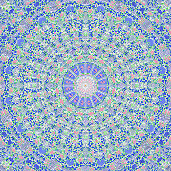 Spring Flood Kaleidoscope by Joy McKenzie