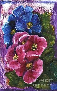 Spring Flowers by Alga Washington