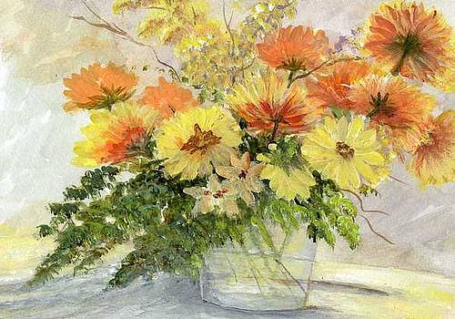 Spring Flowers by Sue Coley