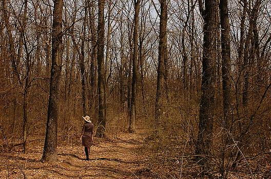 Spring Forest Walk by Tatyana Primak