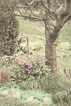 Spring Garden Pastel by Jenny Rainbow