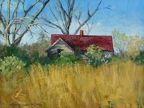 Spring Hay by Peter Muzyka