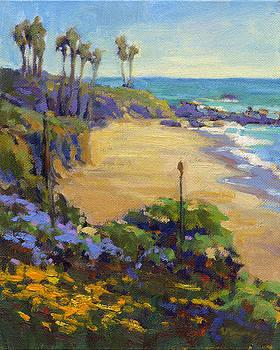 Spring in Heisler Park, Laguna Beach by Konnie Kim