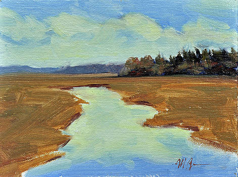 Spring in the Marsh by Mary Byrom