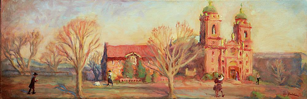 Spring Mass Basilica St. Lawrence Asheville by Lisa Blackshear