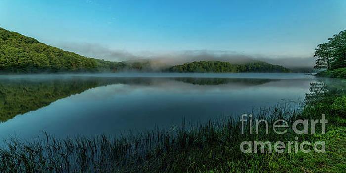 Spring Morning at the Lake by Thomas R Fletcher