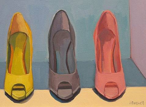 Spring Shoes by Jennifer Boswell