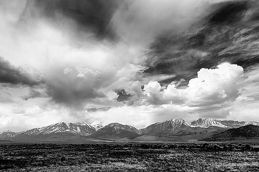 Spring Thunderstorm Eastern Sierra Nevada Mountains by Troy Montemayor