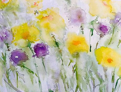 Spring Time Flowers by Donna Eaton