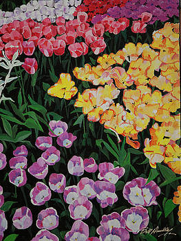 Spring Tulips by Bill Dunkley