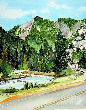 Springtime Poudre Canyon by Tom Riggs