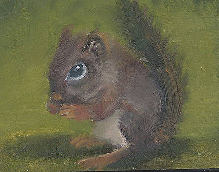 Squirrel by Jessmyne Stephenson