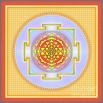 Sri Yantra - No. 3 by Dirk Czarnota