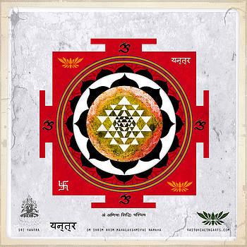 Sri Yantra Magic by Sandra Petra Pintaric