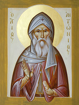 St Anthony the Great by Julia Bridget Hayes