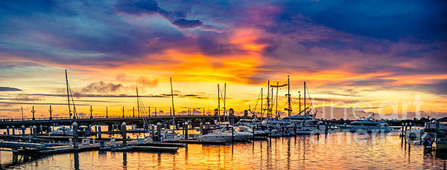 St Augustine Dawn by Jim DeLillo