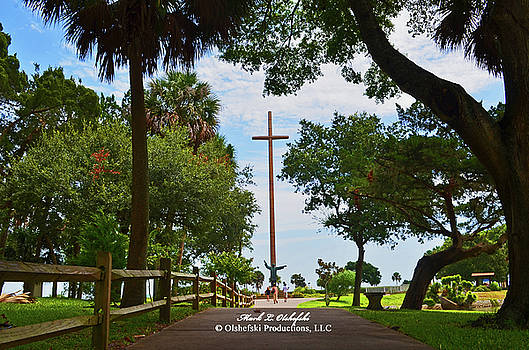 St Augustine FL Cross #1 by Mark Olshefski