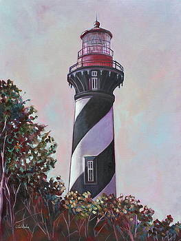 St. Augustine Lighthouse by Eve  Wheeler