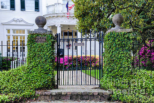 Kathleen K Parker - St. Charles Avenue Gate and Home
