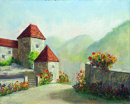 St. Cirq Lapopie by Linda Riesenberg Fisler