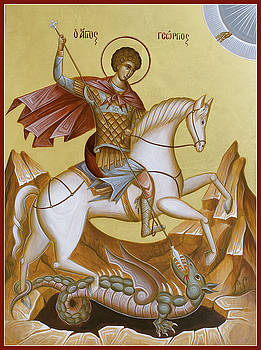 St George by Julia Bridget Hayes