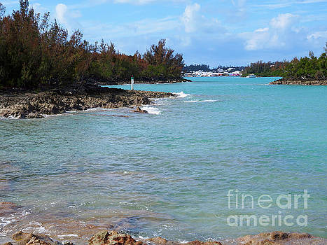 St George's Harbour and Bremen Island Bermuda by Louise Heusinkveld