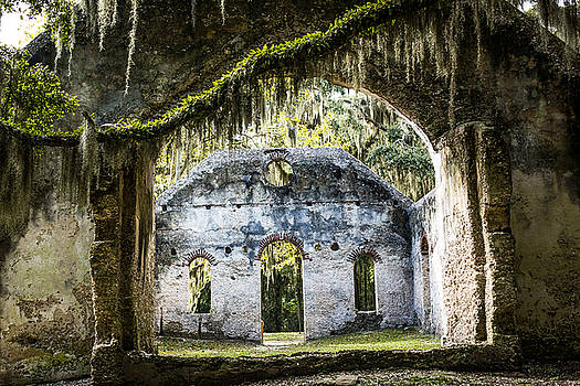 St Helena Church Ruins by Brent Paape