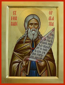 St. Herman of Alaska by Daniel Neculae