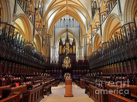 St Hugh's Choir in Lincoln Cathedral by Louise Heusinkveld