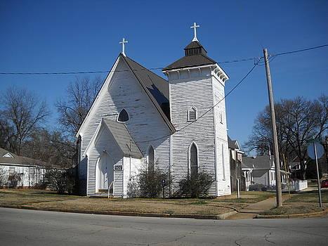 St John Episcopal Church by Hugh Peralta