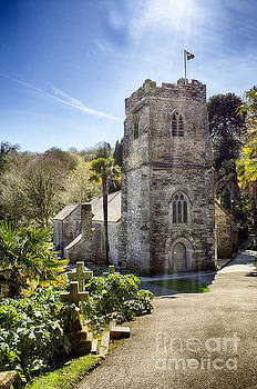 St Just Church Cornwall by Linsey Williams