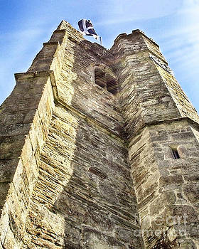 St Just Church Tower by Linsey Williams