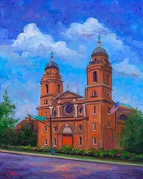 St. Lawrence Basilica - Asheville by Jeff Pittman