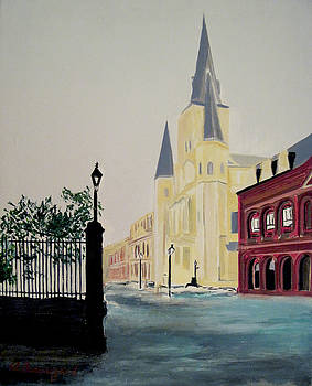 St. Louis Cathedral by Richard Beauregard
