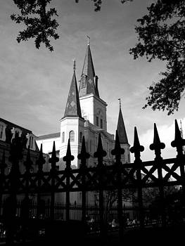 St Louis Cathedral  by Shawn McElroy