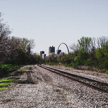 St. Louis From The East Side by Dylan Murphy