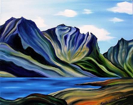 St. Marys Lake Glacier National Park by Nicole Willbur