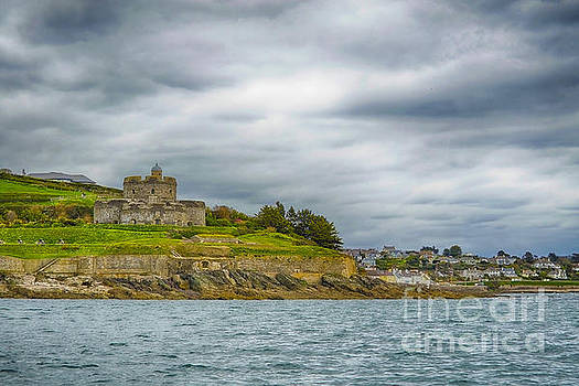 St Mawes Castle And Village by Linsey Williams