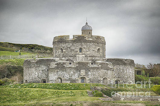 St Mawes Castle Cornwall by Linsey Williams