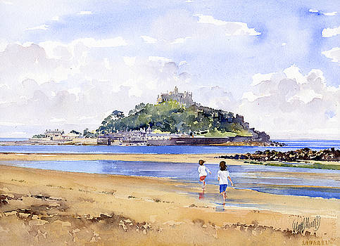 St Michaels Mount by Margaret Merry