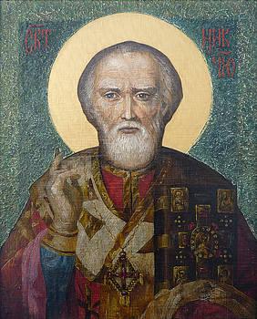 St. Nicholas  by Yury Salko