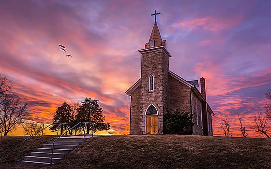 St. Pat's Curch by Mark McDaniel